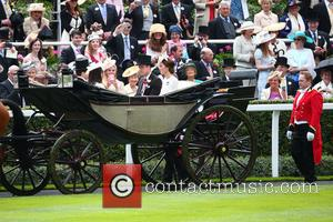 Prince William , Duke of Cambridge - Royal Ascot held at Ascot Racecourse - Day 2 at Royal Ascot -...