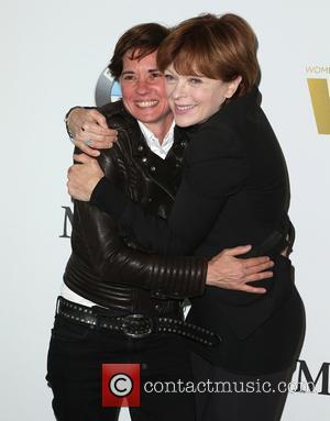 Kimberly Peirce and Frances Fisher