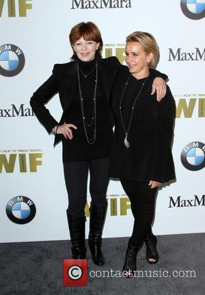 Frances Fisher and Gabrielle Carteris