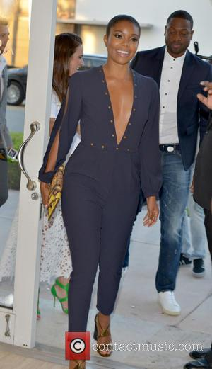 Gabrielle Union , Dwyane Wade - Gabrielle Union and other celebrities are seen as Dwyane Wade launches the new Jaguar...