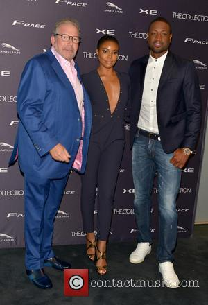 Ken Gorin, Gabrielle Union and Dwyane Wade