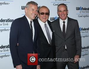 Peter Edge, Clive Davis and Tom Corson