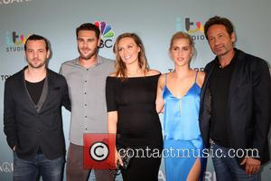 Aquarius Cast, Gethin Anthony, Grey Damon, Michaela Mcmanus, Claire Holt and David Duchovny