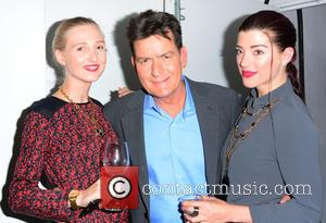 Tamara Orlova Alvarez, Charlie Sheen and Marie Louise Smith