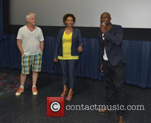 Steven J. Wolfe, Nnegest Likké and Jimmy Jean-louis at Regal Cinemas South Beach 18 & Imax