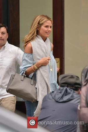 Heidi Klum - Heidi Klum out and about in New York - Manhattan, New York, United States - Friday 17th...