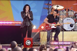 Demi Lovato and Brad Paisley