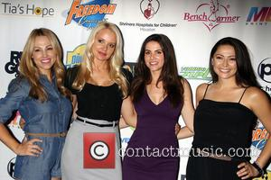 Jessica Hall, Stacy Fuson, Alison Waite and Pilar Lastra