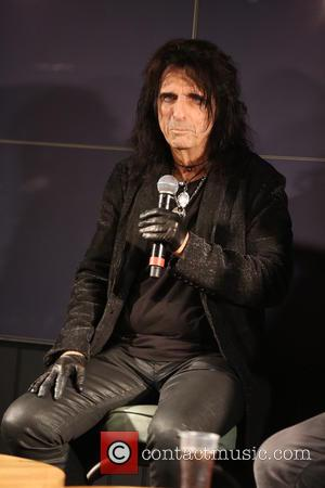 Alice Cooper - Alice Cooper meets and greets attendees of the Freestone Festival - London, United Kingdom - Saturday 18th...