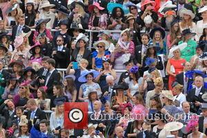 Atmosphere - Royal Ascot - Day 5 - Royal Arrivals at Royal Ascot - Ascot, United Kingdom - Saturday 18th...