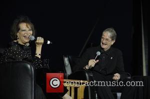 Claudia Cardinale and Tony Watts