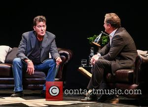 Charlie Sheen and Piers Morgan