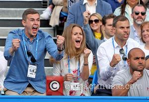 Andy Murray and Kim Murray