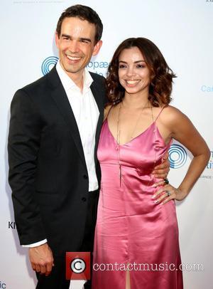 Christopher Gorham and Ariel Lopez