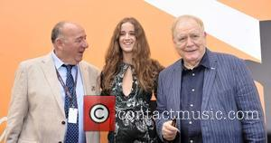 Coco Konig, Brian Cox and Janos Edelenyi