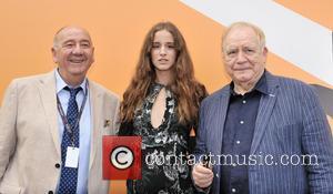 Brian Cox, Coco Konig and Janos Edelenyi