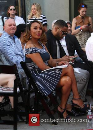 Vivica A. Fox - Roland Emmerich Hand And Footprint Ceremony at TCL Chinese Theatre - Hollywood, California, United States -...