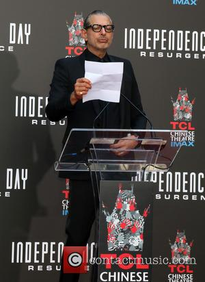 Jeff Goldblum - Roland Emmerich Handprint and Footprint Ceremony held at the TCL Chinese Theatre IMAX at TCL Chinese Theater...