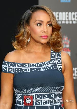 Vivica A. Fox - Roland Emmerich Handprint and Footprint Ceremony held at the TCL Chinese Theatre IMAX at TCL Chinese...