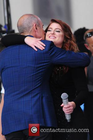 Matt Lauer , Meghan Trainor - Meghan Trainor performing live on NBC's 'Today' show - NY, New York, United States...