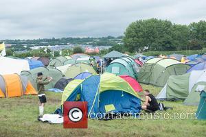 Atmosphere - Glastonbury 2016 - Atmosphere at Worthy Farm Pilton, Glastonbury - Glastonbury, United Kingdom - Wednesday 22nd June 2016