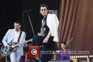 The Last Shadow Puppets at Glastonbury Festival