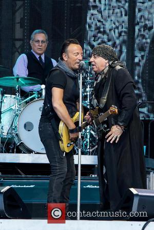 Bruce Springsteen, Steven Van Zandt and Max Weinberg
