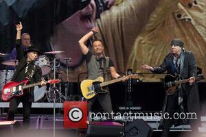 Bruce Springsteen, Nils Lofgren and Steven Van Zandt