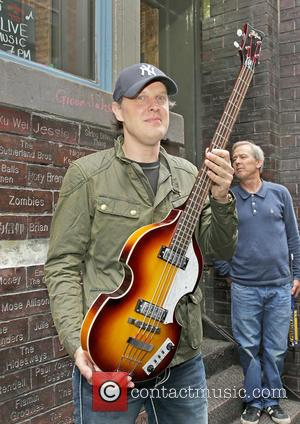 American Blues singer/guitarist Joe Bonamassa is Inducted Into Liverpool Caverns 'Wall of Fame' at Liverpool Cavern Club - Liverpool, United...