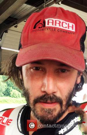Actor Keanu Reeves was at the Goodwood Festival of Speed held at Brands Hatch over the weekend showing off Arch...