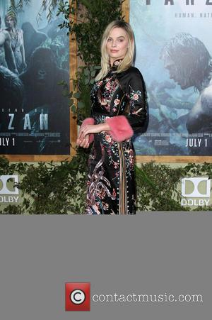 Margot Robbie looking beautiful on the red carpet for the premiere of 'The Legend Of Tarzan' held at the Dolby...