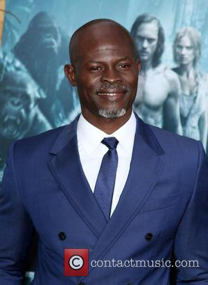 Djimon Hounsou on the red carpet at the premiere of 'The Legend Of Tarzan' held at the Dolby Theater. Djimon...
