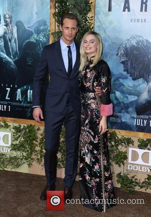 Alexander Skarsgard and Margot Robbie