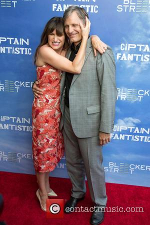 Kathryn Hann and Viggo Mortensen