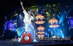 Wiz Khalifa performing at MTV's Isle of MTV concert which is held in Malta. Floriana, Malta - Tuesday 28th June...
