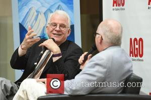 Actor and comedian Steve Martin in conversation with Andrew Hunter (the curator of The Art Gallery of Ontario)  to...