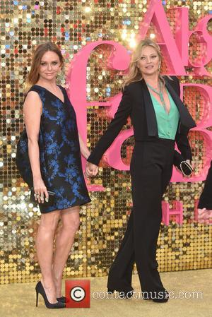 Stella McCartney and Kate Moss at the World Premiere of Jennifer Saunders and Joanna Lumley's new film  'Absolutely Fabulous:...