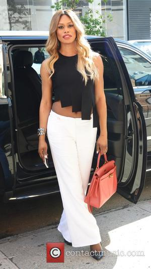 Laverne Cox looking as flawless as usual seen out and about in NYC - New York, United States - Wednesday...