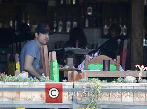 Ashton Kutcher, Mila Kunis and Wyatt Isabelle Kutcher