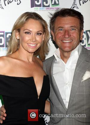 Kym Johnson And Robert Herjavec Wed