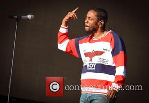 Kendrick Lamar performs at Barclay Card Presents British Summertime Hyde Park Festival. Kendrick's performance was followed by Florence And The...