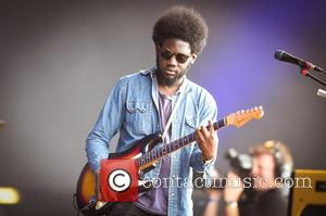Michael Kiwanuka supporting Carole King on the third day of British Summer Time Hyde Park - London, United Kingdom -...