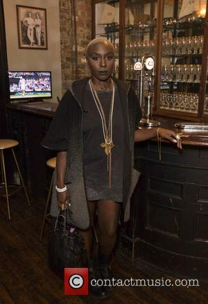 Laura Mvula attends the launch of The Time Portal by Stella Artois. Immediately after the experience Laura was spotted at...