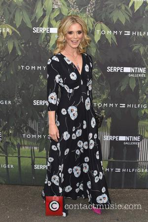 Emilia Fox seen arriving at the Serpentine Gallery Summer Party held at Kensington Gardens, London, United Kingdom - Wednesday 6th...