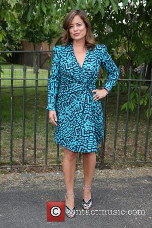 Jade Jagger seen arriving at the Serpentine Gallery Summer Party held at Kensington Gardens, London, United Kingdom - Wednesday 6th...