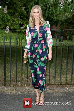 Celebrity Masterchef contestant Donna Air seen arriving at the Serpentine Gallery Summer Party held at Kensington Gardens, London, United Kingdom...