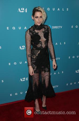 Kristen Stewart wearing a revealing dress at the premiere of A24's 'Equals' held at ArcLight cinema in Hollywood. Kristen plays...