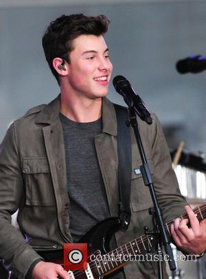 Shawn Mendes appearing on The Today Show as part of their 2016 TODAY Show Concert Series. New York City, United...