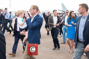 Prince George, Prince William, The Duke Of Cambridge and The Duchess Of Cambridge