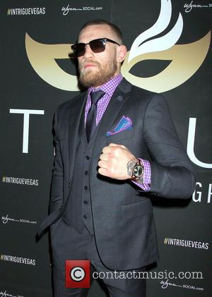 UFC Fighter Conor McGregor hosts the Las Vegas Fight Weekend After Party at Intrigue Nightclub inside Wynn Las Vegas, Nevada,...